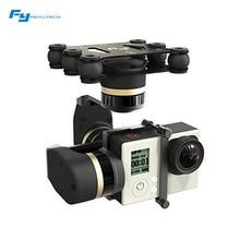 Feiyu mini 3d de $ number ejes sin escobillas mini 3d cardán para gopro hero 3 + gopro hero 4 photograrhy para aviones aérea ilookplus