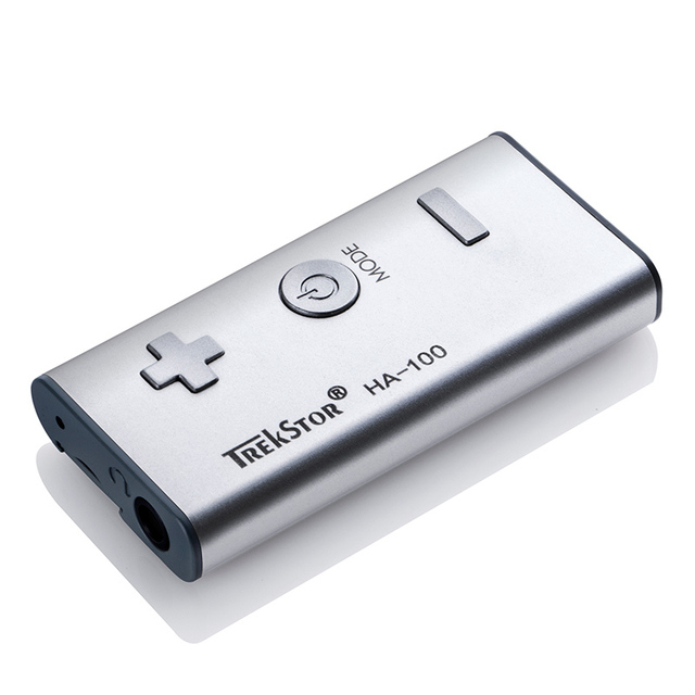 Original Trekstor Audio Headphone Amplifier,Baron HA-100 Mini Headamp & Bass Boost,Mini Hi-Fi Stereo Amplifier Booster MP3 Audio