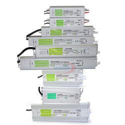 Водонепроницаемый IP67 светодиодный драйвер Ac dc 12 V/24 V 10 W 15 W 20 W 25 30 W 36 W 45 W 50 W 60 W 80 W 100 W 120 W 150 W Питание для светодиодный полосы света