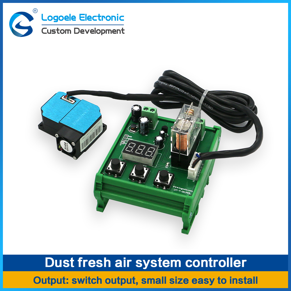 High quality Laser dust sensor module PM2.5 Fresh air system Excessive control Intelligent alarm Free shipping free shipping 10pcs l298p l298 sop20 double completely excessive drive
