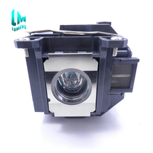 High brightness Projector bulb for ELPLP57 for Epson EB-450W EB-440W EB-T450WI EB-460 H318A H343A 180 days warranty цены