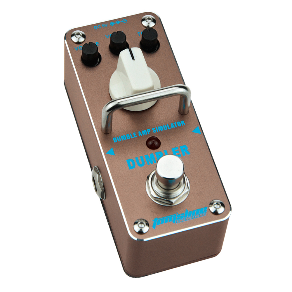 Tomsline ADR-3 DUMBLER Dumble amp sound overdrive Mini Analogue Effect True Bypass AROMA alternative dispute resolution adr