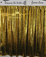 ShinyBeauty 2X8FT Gold And Black Curtain Backdrop 60x245cm Mermaid Sequin Fabric For Weddings Parties A R