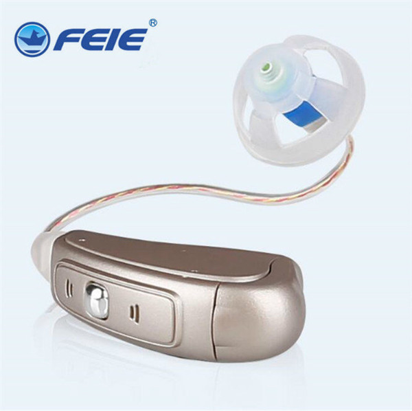 2018 electronics china 8 channels RIC hearing aid with tinnitus for high frequency ear aids audifono para sordera MY-20 programmable digital 6 channels ric reaceiver in the ear canal hearing aids with battery 312 my 19