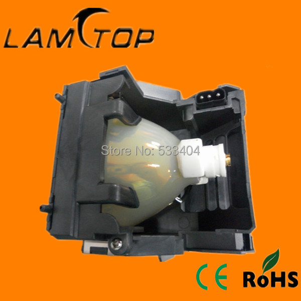 цены  FREE SHIPPING  LAMTOP  180 days warranty  projector lamp with housing  POA-LMP116 / 610-335-8093  for  LC-XG400L