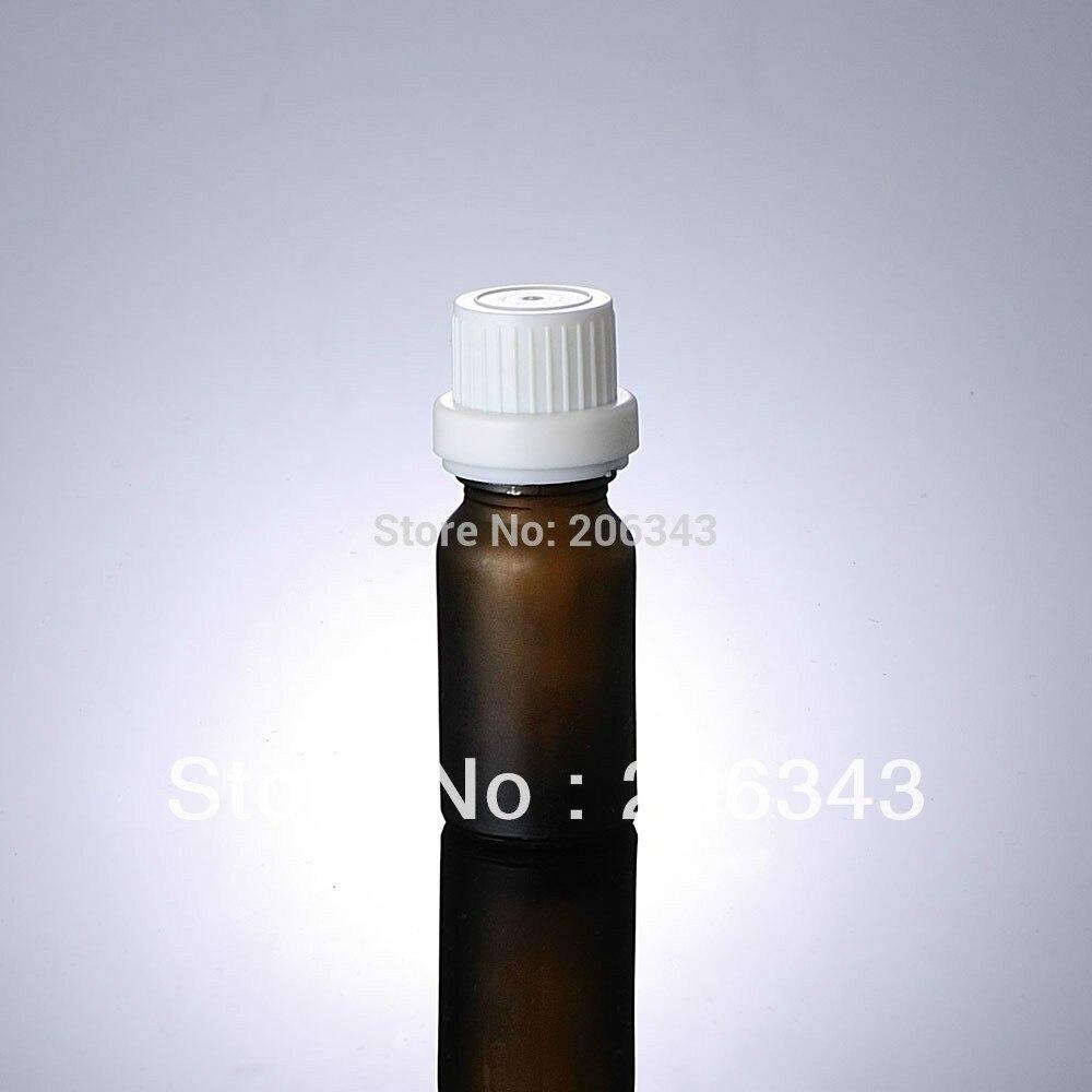 Arrosage Automatique Goutte À Goutte Avec Bouteille Plastique ▽10 ml brun givré bouteille avec capuchon en plastique + en