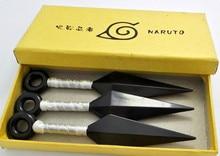 Naruto Ninja Anime Cosplay Kunai 3 pcs Sets