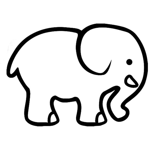 13 9cm 10 1cm Cartoon Funny Elephant Car Styling Stickers