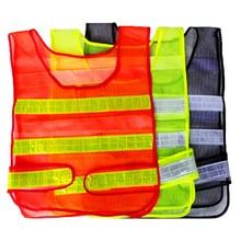 Vest Reflective-Tape-Gear Hi-Viz Cycling Running Women Safety for Waistcoat Biking Visibility