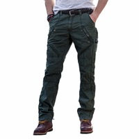 Tactical Cargo Pants Casual Plus Size Cotton Breathable Multi Pocket Military Army Camouflage Cargo Pants For