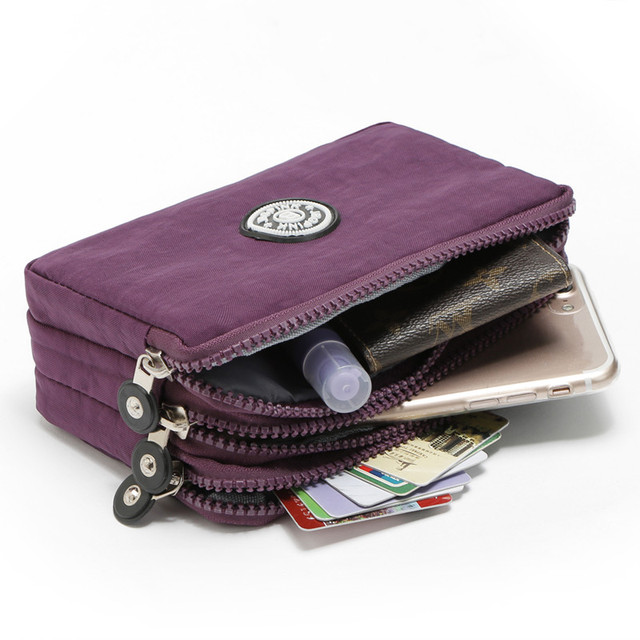 Cute Casual Large-Capacity Wear-Resistant Nylon Wallet