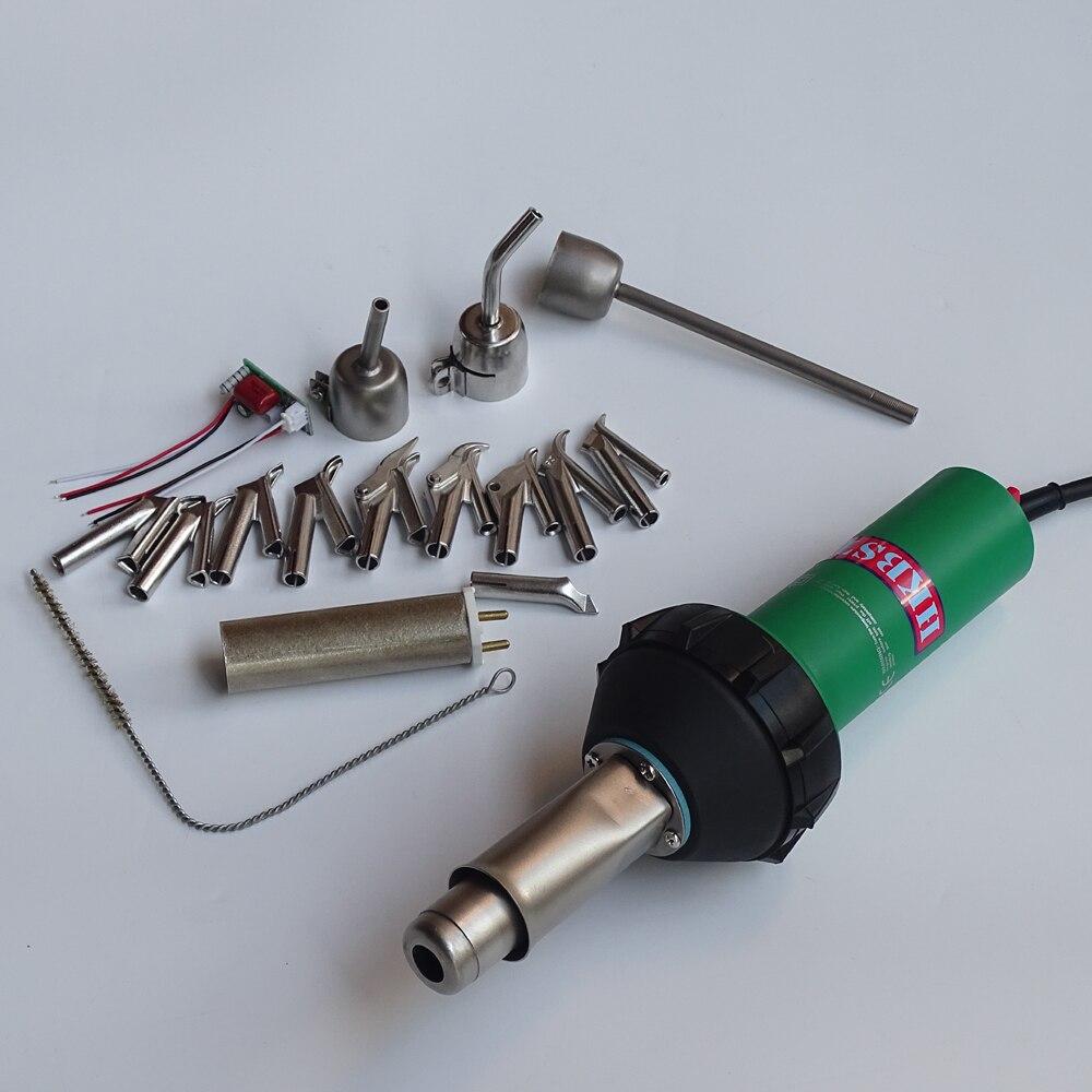 HKBST plastic welding gun con 17 pz di accessori