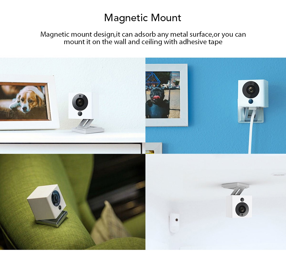 Original Xiaomi CCTV Mijia Xiaofang 110 Degree F2.0 8X 1080P Digital Zoom Smart Camera IP WIFI Wireless Camaras Cam Night Vision (9)