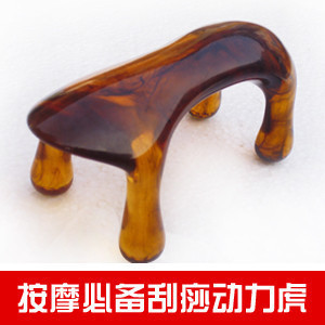 Dog massage beeswax dog power tiger of the meridian acupuncture stick gua sha board cervical vertebra massage lumbar spine heir of the dog