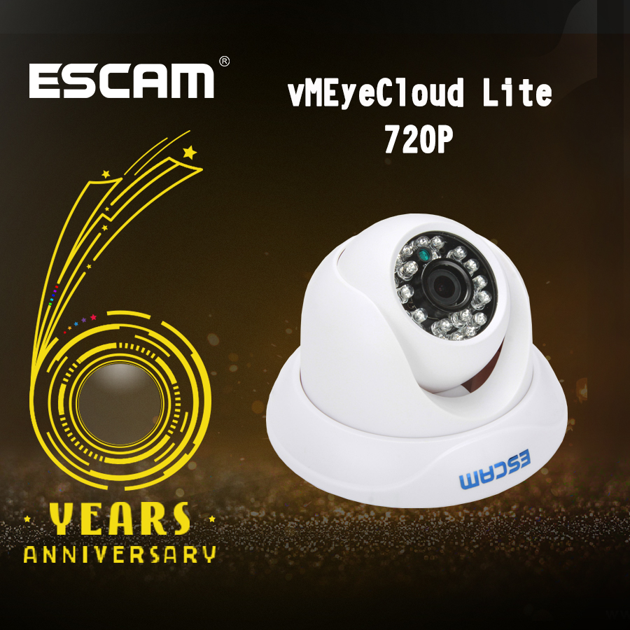 цена на Escam QD500 H.264 1/4 CMOS IP Camera 3.6mm Lens Waterproof IR 10m Internet Camera Night Vision Onvif P2P Mini Camera