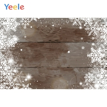 Yeele Wood Natural Background Snow Glitter Star Photography Backdrops Personalized Photographic Backgrounds For Photo Studio