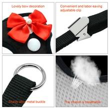 Elegant Bow Dog Harness