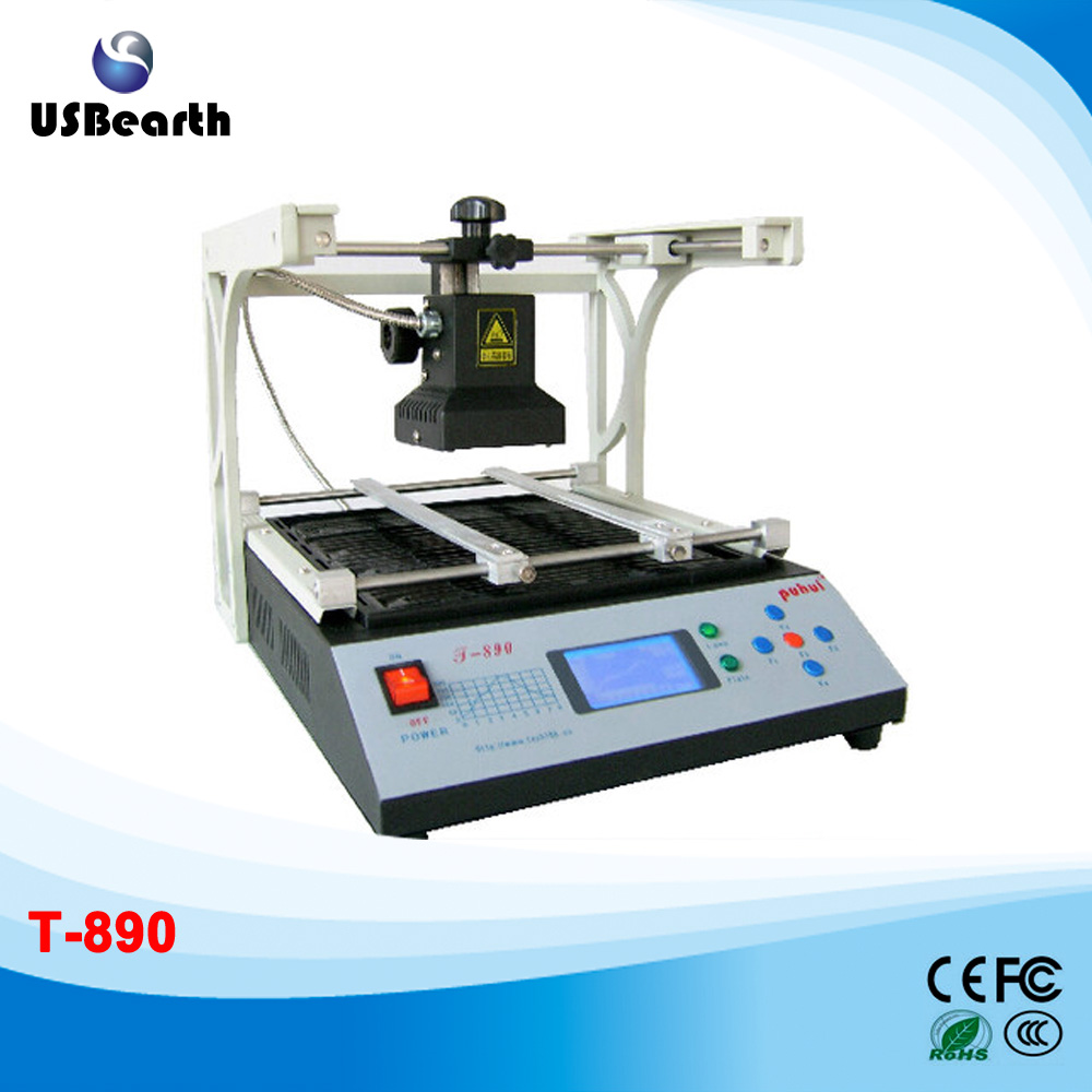 puhui T-890 infrared welding machine BGA rework station reballing machine for motherboard repairing, free tax to Russia ph015 puhui t 835 110v 220v bga irda welder infrared bga soldering and desoldering smd rework station t835