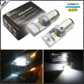 6000K  Powered By Philips Luxen LED 1157 BAY15D P21/4W LED Bulbs For Turn Signal Lights, Daytime Running Lights, Reverse Lights