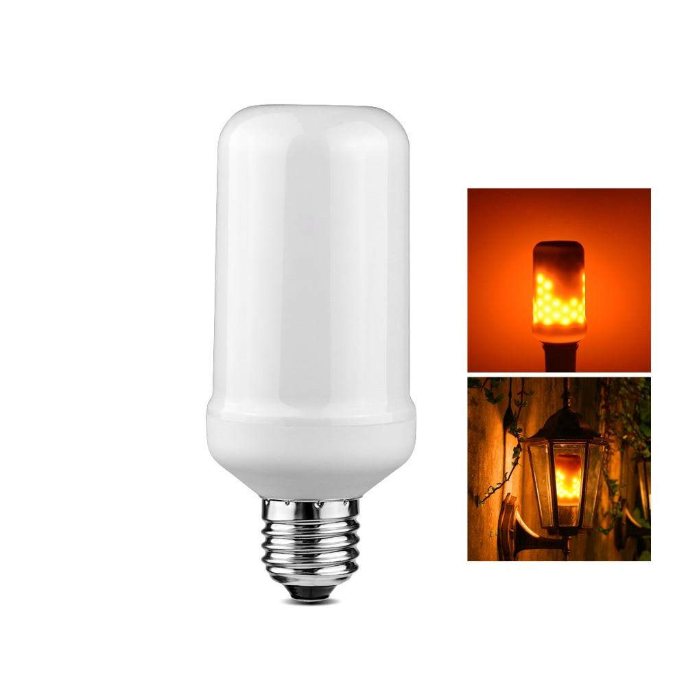 E27 110 V 220 Feuer Flamme Led Lampe Feuereffekt Neuheit Beleuchtung Laterne