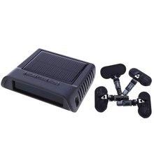 TPMS Контроля Давления в Автомобильных Шин Интеллектуальная Система СВЕТОДИОДНЫЙ Экран TP Сигнализации Давления в Шинах 5 В Солнечной Энергии 4 Датчики питания