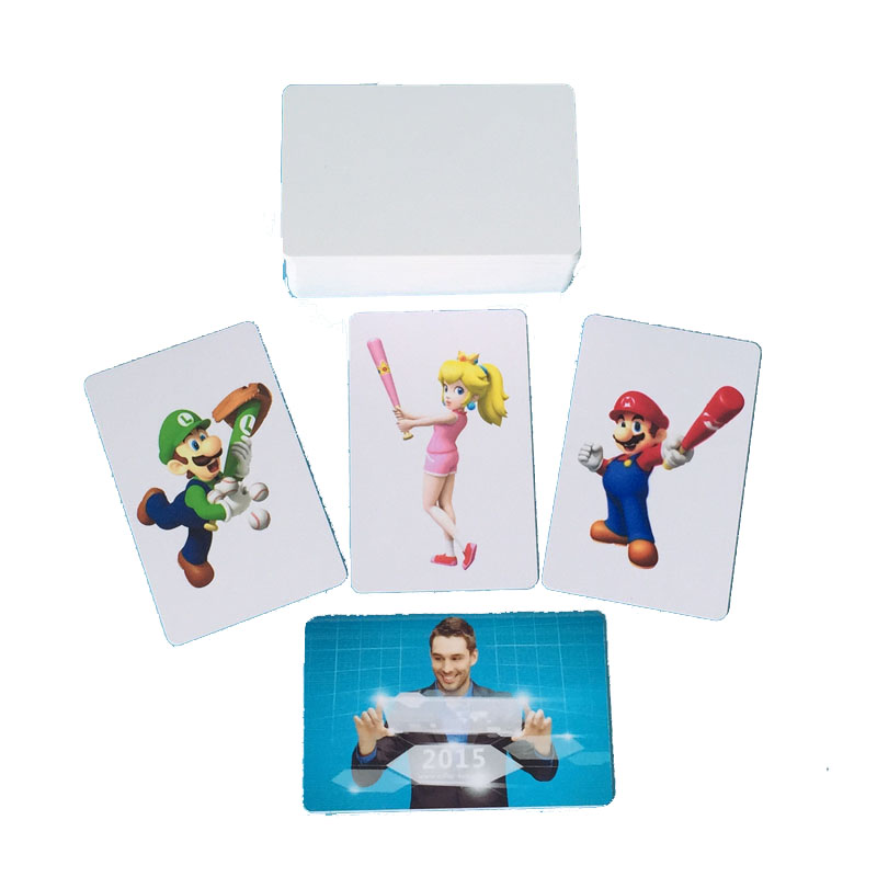 все цены на  115pcs Inkjet Printable PVC Blank ID Card 86mm x 54mm x0.76mm for Epson Canon HP Lexmark Inkjet Printer Blank PVC Card for Canon  онлайн