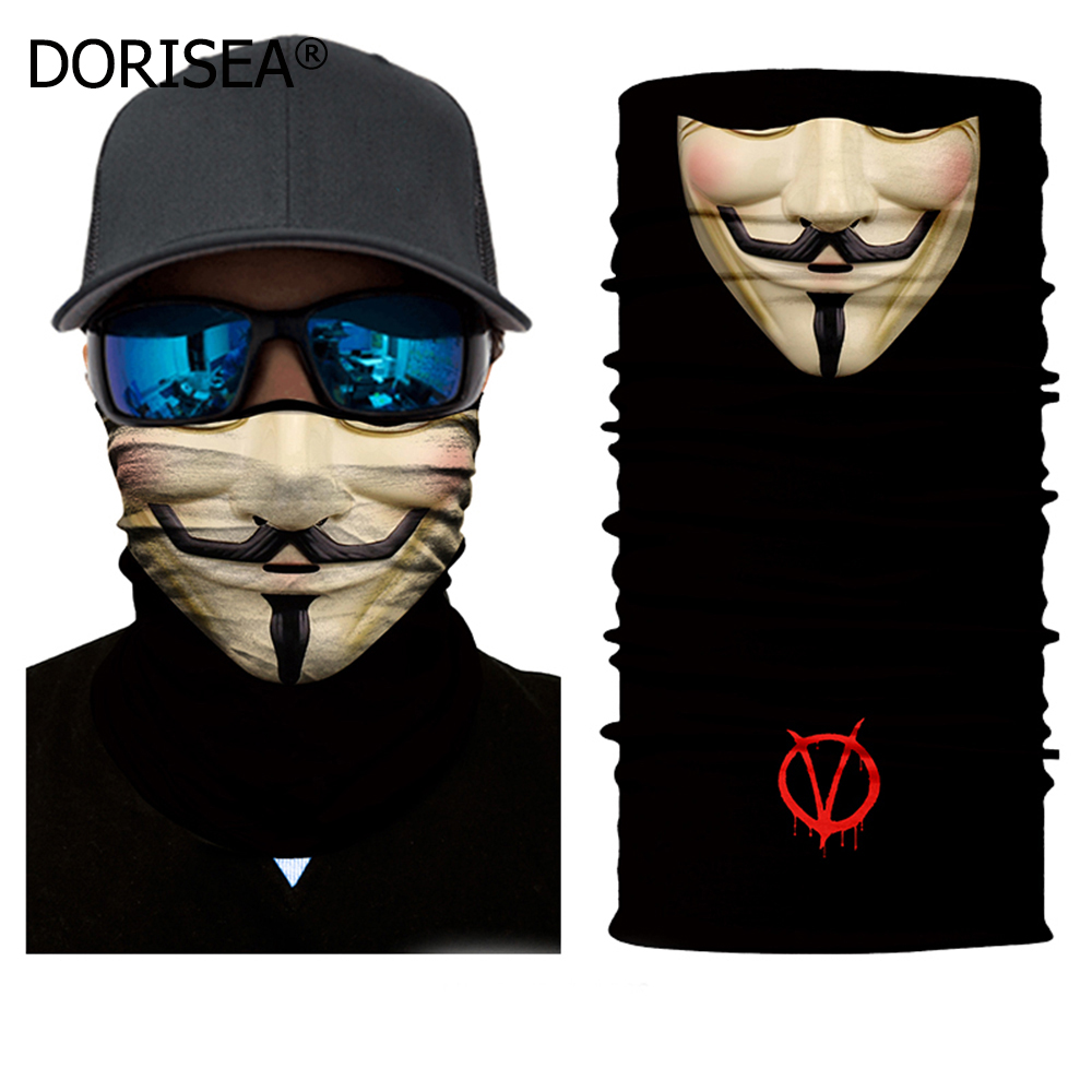 Face Shield Sun Mask Neck Gaiter Balaclava Breathable Soft