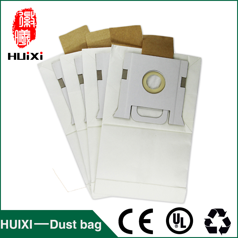 White paper dust bags and  change bags with high filtration efficiency of household vacuum cleaner accessories for RO240 RO3011 10pcs paper change bags and composite paper dust bags with high efficiency of vacuum cleaner for ro1717 ro1733 ro1751 vd 2314etc