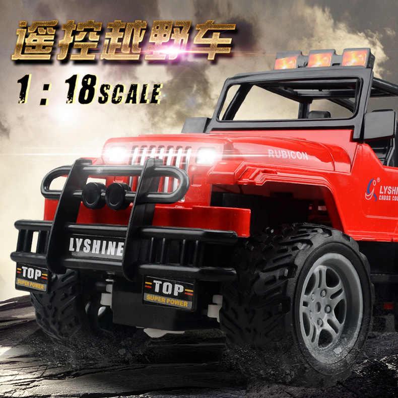 1:18 RC Xe 1/24 Quy Mô 4WD Tắt Đường RC Bánh Xích 4x4 Lipo Mini Xe Tải Monster RTR Xe Địa Hình Rock Crawler có Đèn 220*130*120mm