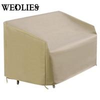 215 109 101cm Outdoor Furniture Waterproof High Three Sofa Cover Patio Door Garden Patio Chair Cover