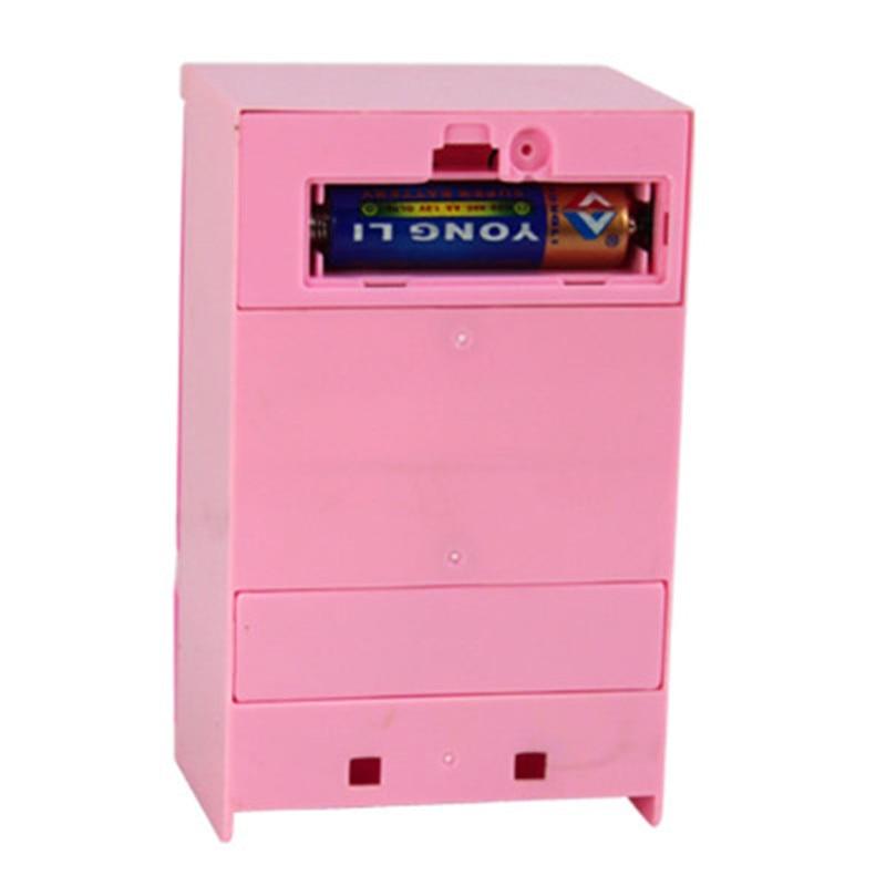 Kinder Kunststoff Küche Haus Pretend Play rosa Kühlschrank ...