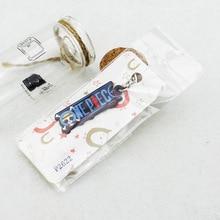 4 Styles One Piece  Keychain