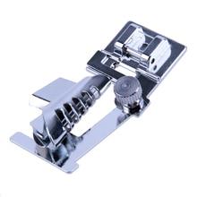 Juego de prensatelas de dobladillo enrollado para el cantante Janome máquina de coser doméstico pieza máquina de coser herramientas de coser accesorio