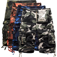 2017 New Arrival Cargo Shorts Men Summer Hot Cool Camouflage Casual Design Army Military Fashion Shorts