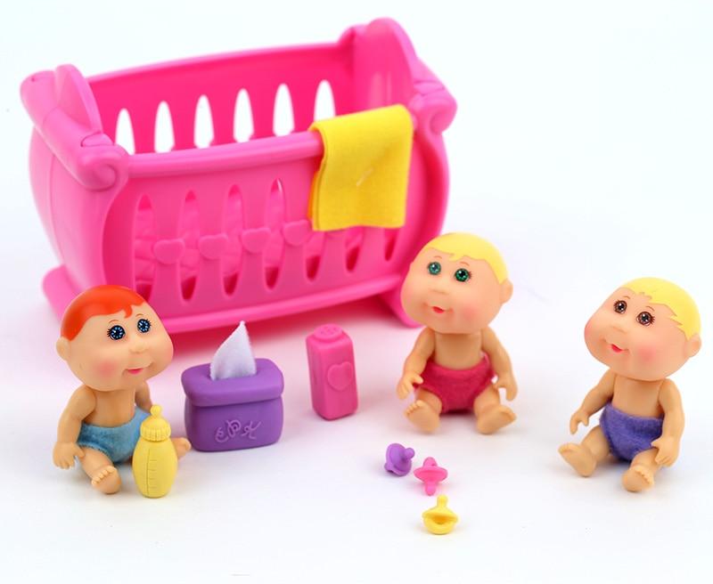Orijinal Şirin Kələm Patch Uşaqlar Evi oyuncaqlar dəsti uşaqlar - Kuklalar və kuklalar üçün aksesuarlar - Fotoqrafiya 4