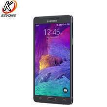 Original AT T Version Samsung Galaxy Note 4 N910A LTE Mobile Phone 5 7 inch 3GB