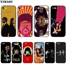 YIMAOC Pulp Fiction ซิลิโคนนุ่มสำหรับ iPhone 11 Pro XS Max XR X 8 7 6 6S Plus 5 5S SE(China)