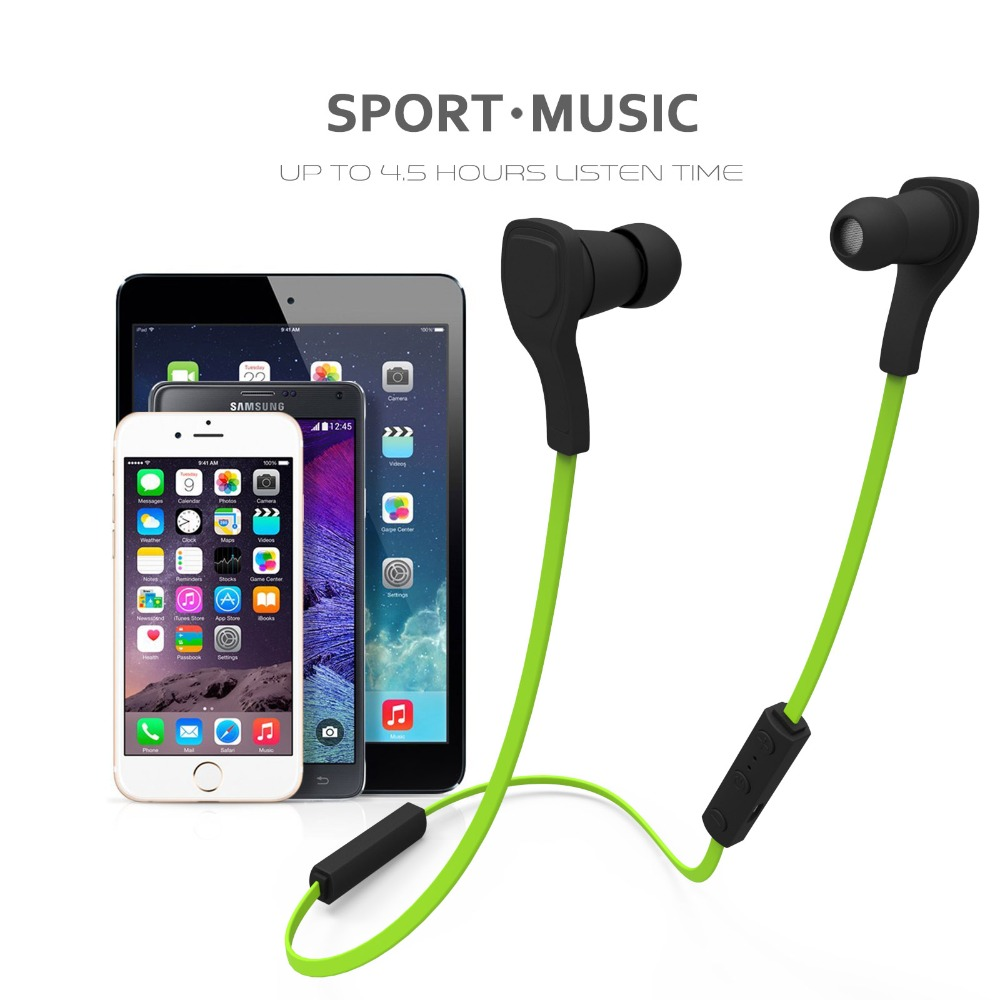 Hot Sports bluetooth earphone Headphones ehandsfree Headset Earbuds earpods For IPhone  Samsung MP3 Player selfie Function P10 original xiaomi hybrid earphone 1more mi headphones headset 2 unit in ear circle iron mixed piston 4 for iphone samsung lg htc