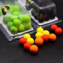 20pcs/pack smell Pop ups Carp Fishing bait Boilies/5Flavors 12mm Floating ball beads feeder Artificial Carp baits lure/ hair rig