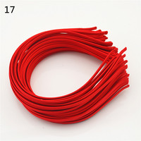 5pcs Women Unisex men corrugated iron or metallic strip of hair band, head hoop diadem by mujer 22color Girls Accessories
