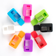 Hot selling Gopro Hero 5 Soft Silicone Frame Case Protective Housing with lens Cover For GoPro