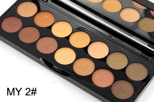 2016 MISS ROSE Shimmer 14colors diamond bright colorful eye shadow super flash paleta Glitter eyeshadow pallete matte Eyeshadow4