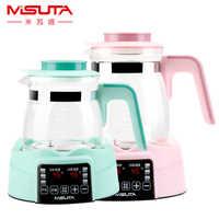 Inteligente chaleira de água temperatura constante bebê leite mais quente máquina inteligente leite em pó termostato caldeira de água chaleira elétrica