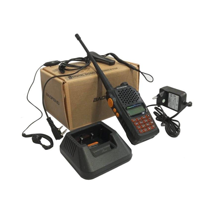 CTCSS DCS walkie talkie baofeng UV-6R 7 watt Walkie Talkie UHF & VHF 1800 mAH UV 6R CB Radio UV-5R verbesserte Version FM Transceiver