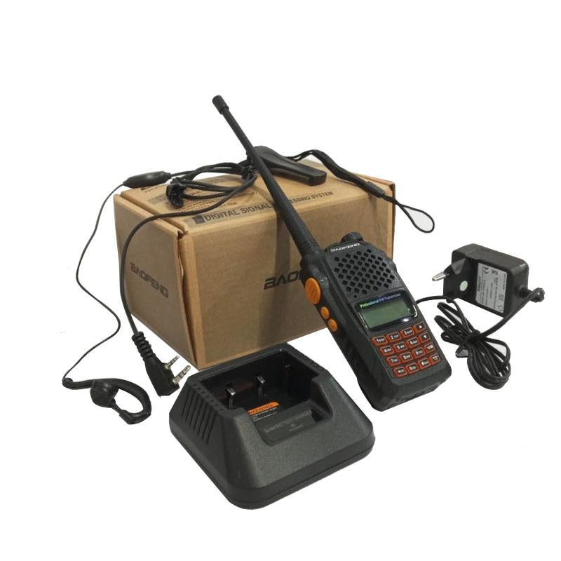 CTCSS DCS walkie talkie baofeng UV-6R 7w Walkie Talkie UHF&VHF 1800mAH UV 6R CB Radio UV-5R Upgraded Version FM Transceiver