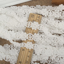 Quality 1cm bilateral lace with flowers