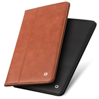 QIALINO Luxury Coque For IPad Pro 10 5 Case Genuine Leather Flip Stand Card Slot Cover