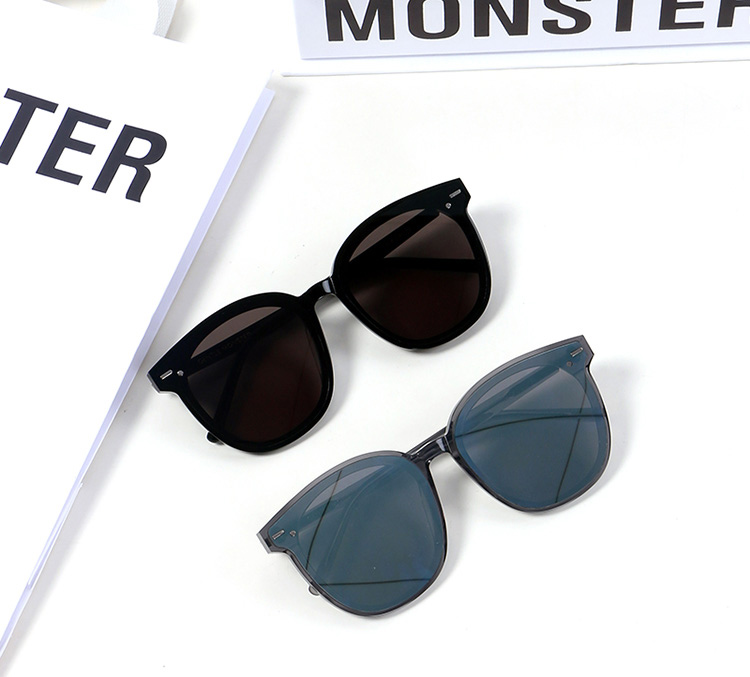 2019 Gentle Six Bears Vintage Acetate Sunglasses For Men/Women High Quality Polarized Lens UV400 Oversize FLATBA Sun Glasses