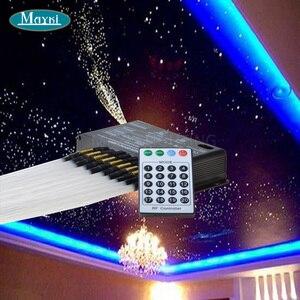 Image 5 - Maykit câble en Fiber optique, contrôle 512, DMX LED, câble décoratif, météore projecteur LED, abordable, vente en gros
