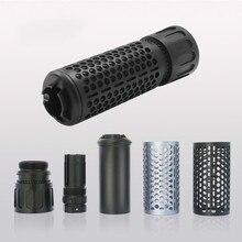 Глушитель блок предназначен для металлического сплава Зажигалка для глушителей или страйкбол пистолет silenciador Airsoft